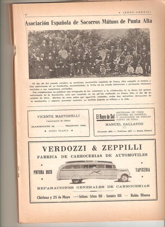 19431030 33 aniversario asoc esp punta alta
