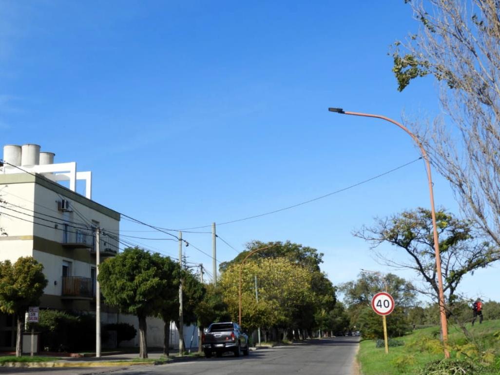 Colocación luminarias LED en Colón (5)