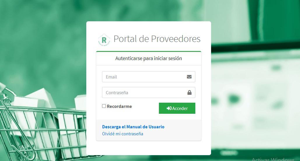 Home Portal de compras