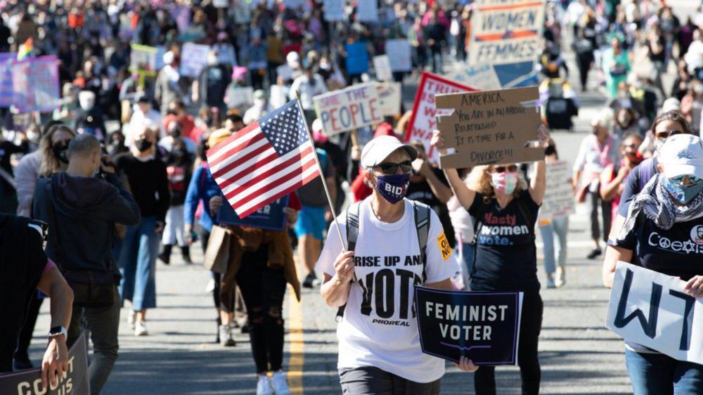 Marcha contra Trump