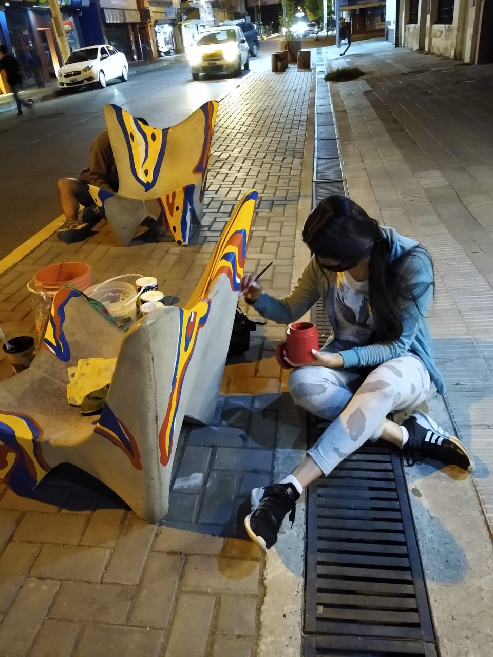 intervenciuones artísticas centro comercial (3)
