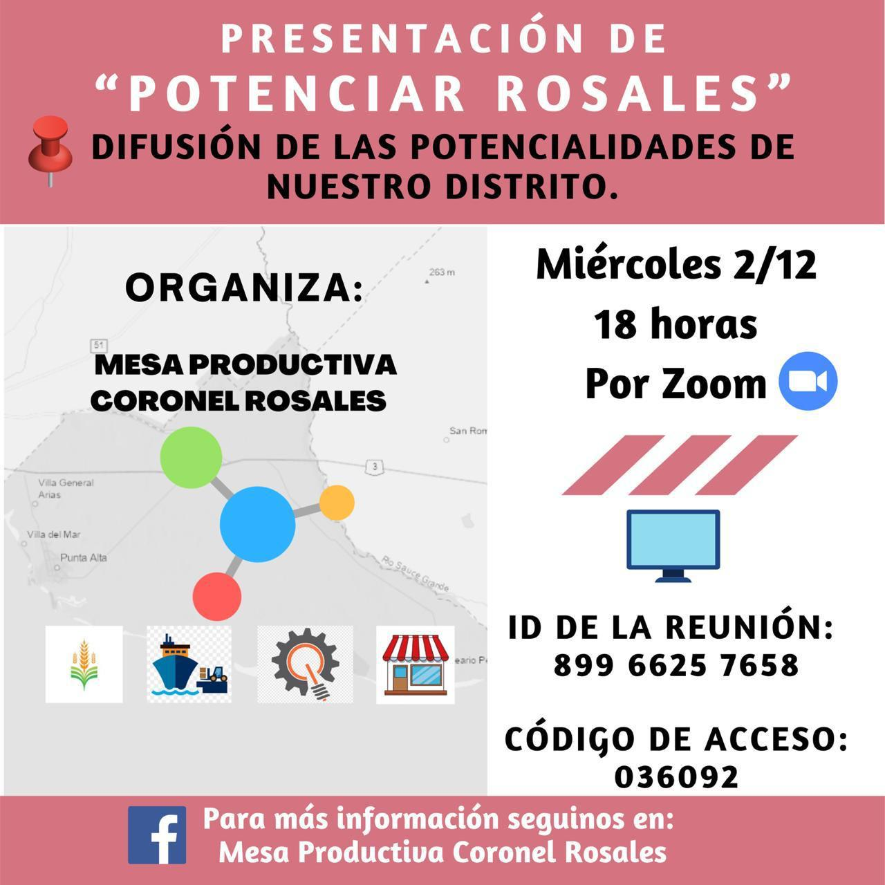 Potenciar Rosales Flyer