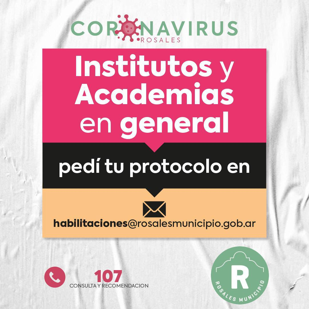 protocolos institutos y academias